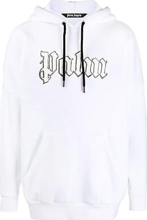 Palm Angels Hooded sweatshirt with reflective logo