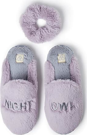 Ladies Knitted Blue and Purple Slipper Mules FREE P/&P
