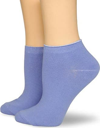 Ozone Womens Ankle Zone Sock 2 Pack,Sky