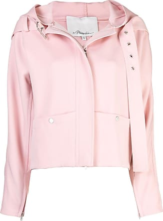 3.1 Phillip Lim Twill Hooded Jacket - PINK
