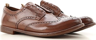 Officine Creative Lace Up Shoes for Men Oxfords, Derbies and Brogues On Sale, Tobacco, Leather, 2017, 10 10.25 10.5 7.5 7.75 8 8.5 9 9.5