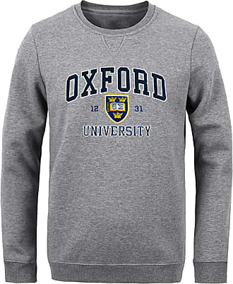 Oxford University Official Licensed Applique Sweatshirt (X-Large, Grey)