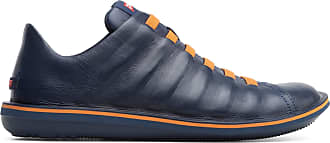 Camper Mens Beetle Sneaker, Navy, 12.5 UK