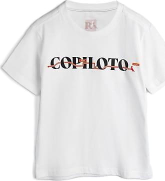 Reserva Mini Camiseta Reserva Mini Infantil Copiloto Branca