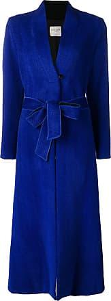 Forte_Forte long loose coat - Blue