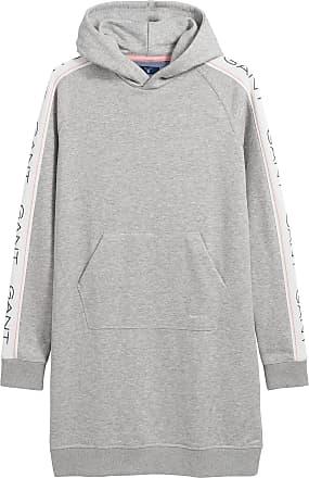 Gant Damen Kapuzenkleid Pulloverkleid Sweatshirtkleid Hoodie Kleid New Haven
