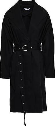 Iro Iro Woman Mamos Cotton-gabardine Trench Coat Black Size 34