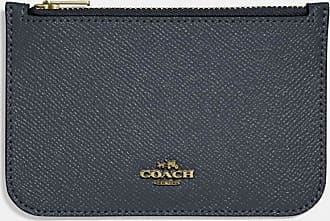 Coach Zip Card Case in Blue
