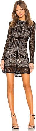 Bardot Sasha Lace Dress in Black