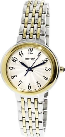 Seiko Womens SRZ506 Silver Stainless-Steel Japanese Quartz Dress Watch