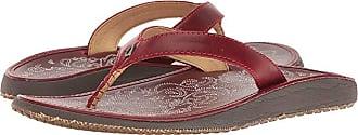 Olukai Paniolo (Ohia Red/Ohia Red) Womens Sandals