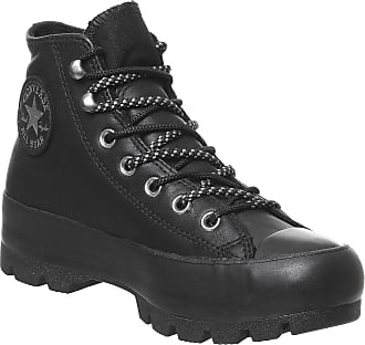 Converse Chuck Taylor All Star Lugged Winter Boot HI Trainers Femmes Black - UK:3.5 - Hi top Trainers