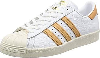 brand new 49ea5 4aabe adidas Originals Herren Superstar 80S Sneakers Schuhe -Weiß