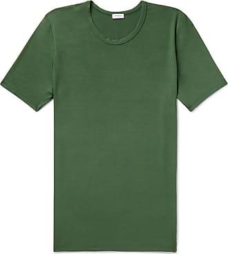 Zimmerli Stretch-modal Jersey T-shirt - Green