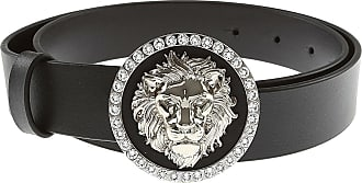 Versace Belt for Women On Sale, Black, Leather, 2017, 32 inches - 80 cm 34 inches - 85 cm