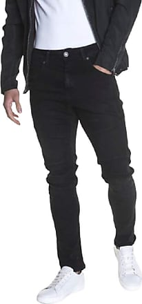 883 Police Moriarty Laboe 409 Washed Black Detail Slim Mens Jeans (R32)