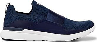 Athletic Propulsion Labs Techloom Bliss Slip-on Running Sneakers - Navy