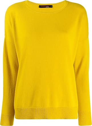 Incentive! Cashmere drop shoulder jumper - Amarelo