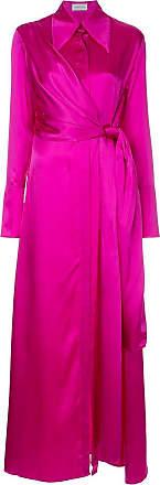 16Arlington side tie shirt dress - Rosa