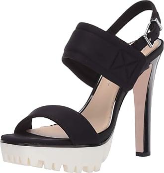 Jessica Simpson Womens Sarey Heeled Sandal, Black, 6.5 UK