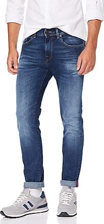 Selected Homme Mens Slhslim-Leon 1479 D.Blue St Jeans W Noos Slim, Dark Blue Denim Dark Blue Denim, 30W / 34L