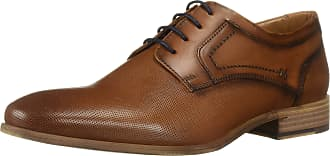 Kenneth Cole Reaction Mens Tellem Lace Up Oxford, Tan, 11 UK