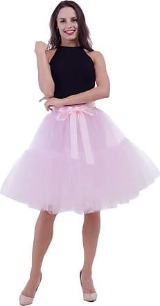 Girls Ladies Hot Colours Tutu Skirt Ballet Dance Fancy Dress Size 8-22