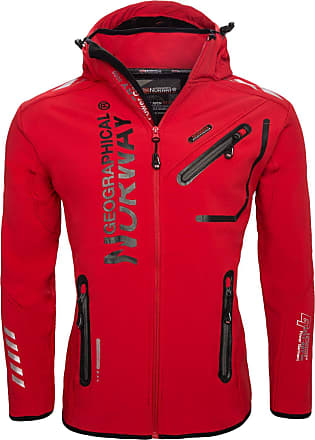 Geographical Norway Rivoli Men Jacket, RED, Small