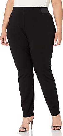 Chaps Womens Plus Size Skinny Double Cloth Capri Pant