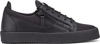 Giuseppe Zanotti Black fabric low-top sneaker FRANKIE