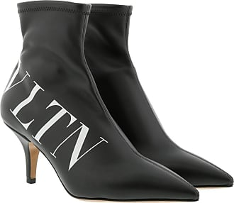 Valentino Boots & Booties - VLTN Ankle Boots Black/White - black - Boots & Booties for ladies