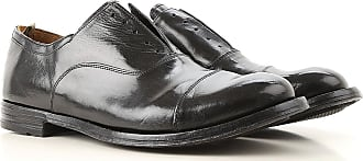 Officine Creative Oxford Shoes for Men On Sale, New Bufalo Black, Leather, 2017, 8