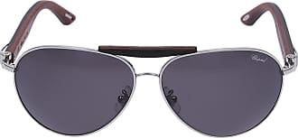 Chopard Sonnenbrille Aviator A55V Holz braun