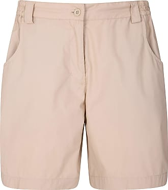 Mountain Warehouse Quest Womens Shorts - 100% Cotton Winter Pants, Lightweight Ladies Short Trousers, Multiple Pockets - Best for Walking, Holidays, Picnics & Travelling