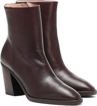 Stuart Weitzman Wynter 80 leather ankle boots