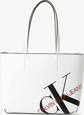 Calvin Klein Jeans Damen Shopper beige