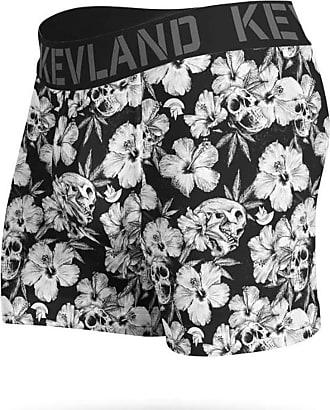 Kevland Underwear Cueca Kevland Boxer Floral Dark KEV248 GG