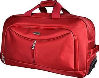 Yin's Bolsa Sacola de Viagem Média c/Carrinho Vermelha YS1027V