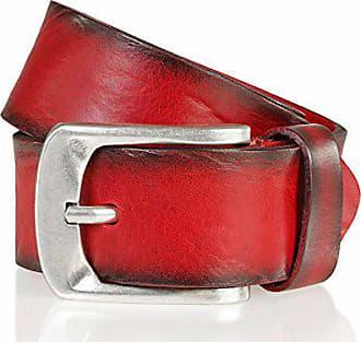 cc0e126e7fdfef Bernd Götz Damengürtel Walkledergürtel geprägt Rot 402187-0055 Jeansgürtel  Leder Gürtel Ledergürtel 85 cm