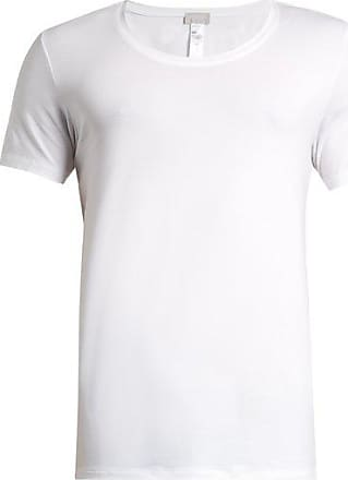 Hanro Stretch-cotton Jersey T-shirt - Mens - White