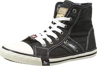 Mustang Womens 1099-502-9 Low-Top Sneakers, Black (9 Schwarz), 5.5 UK 39 EU