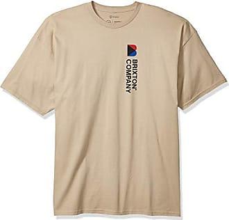 Brixton Mens Ironclad Standard Fit Short Sleeve T-Shirt