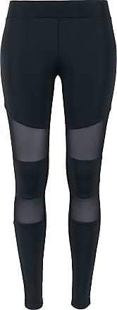 Urban Classics Ladies Tech Mesh Leggings - Leggings - schwarz