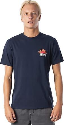 Rip Curl Grateful Men,T-Shirt,Short Sleeve Tee,Short Sleeves,Round Neckline,Imprint,Navy,M