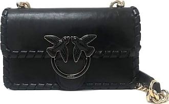 Pinko Mini Love Bag Twist Nero Limousine Shoulder bag