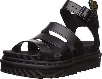 Dr. Martens Womens Blaire Ankle Strap Sandals, Black (Black Brando 001), 6.5 UK (40 EU)