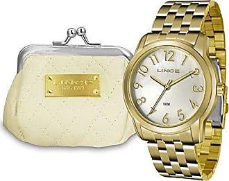 Lince Relógio Feminino Lince Lrg4456l Kt72 Dourado
