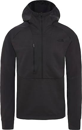 The North Face Respirator Fleecehoodie Herren in weathered black, Größe XL