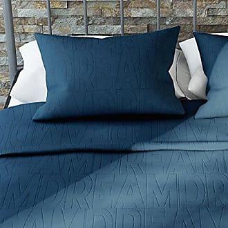 Dorel Home Products Novogratz Dream Quilt Set with Stylish Design in Brushed Microfiber - Soft & Lightweight - 3 Piece (Blue, Full/Queen)