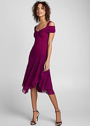 Fuzzi Magenta dress